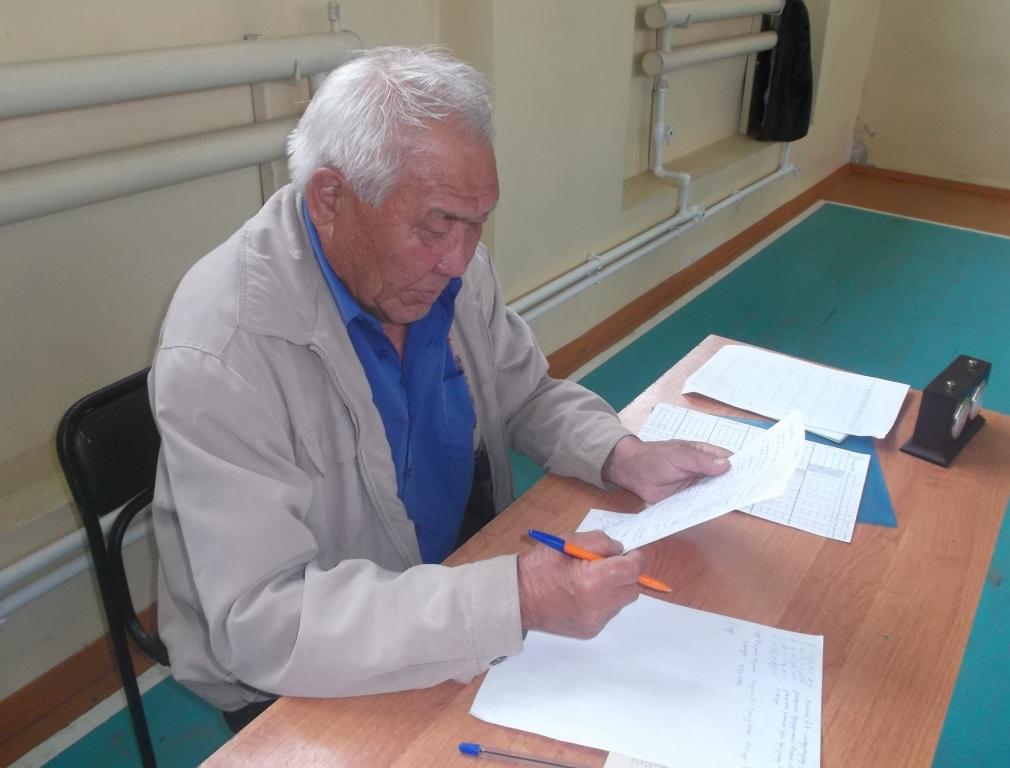 В.С. Холхорев, главный судья турнира