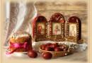 Поздравление с Великим Праздником Пасхи от отца Александра, Свято-Иннокентьевский храм, село Кырен