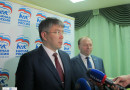 «Единая Россия» выдвинула Алексея Цыденова на выборы главы Бурятии /