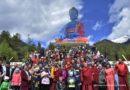 XXIV Пандито Хамбо-лама Дамба Аюшеев освятил в Аршане ступу Будды Медицины