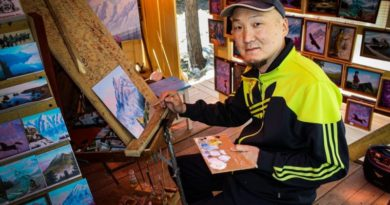 Тункинский художник Саян Танганов: «Воспевать Бурятию через искусство»
